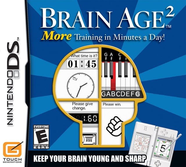 Gamewise Brain Age 2: More Training in Minutes a Day Wiki Guide, Walkthrough and Cheats