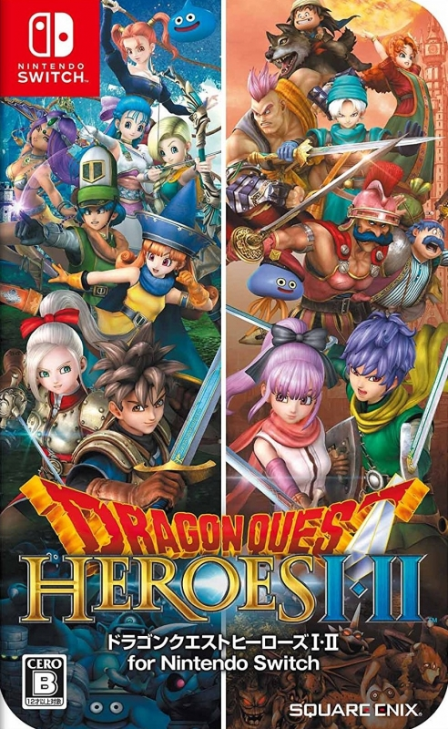 Dragon Quest Heroes I & II for Nintendo Switch on NS - Gamewise