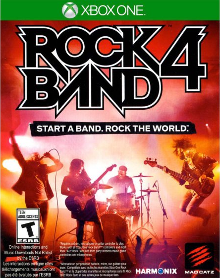 Rock Band 4 Wiki - Gamewise