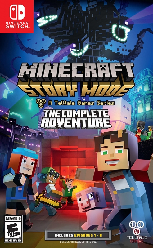 Minecraft: Story Mode on NS - Gamewise