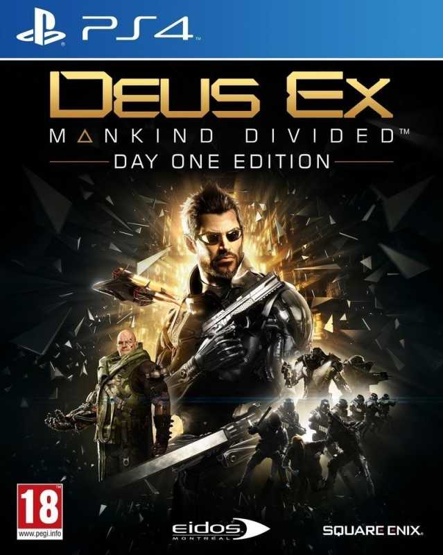 Deus Ex: Mankind Divided [Gamewise]