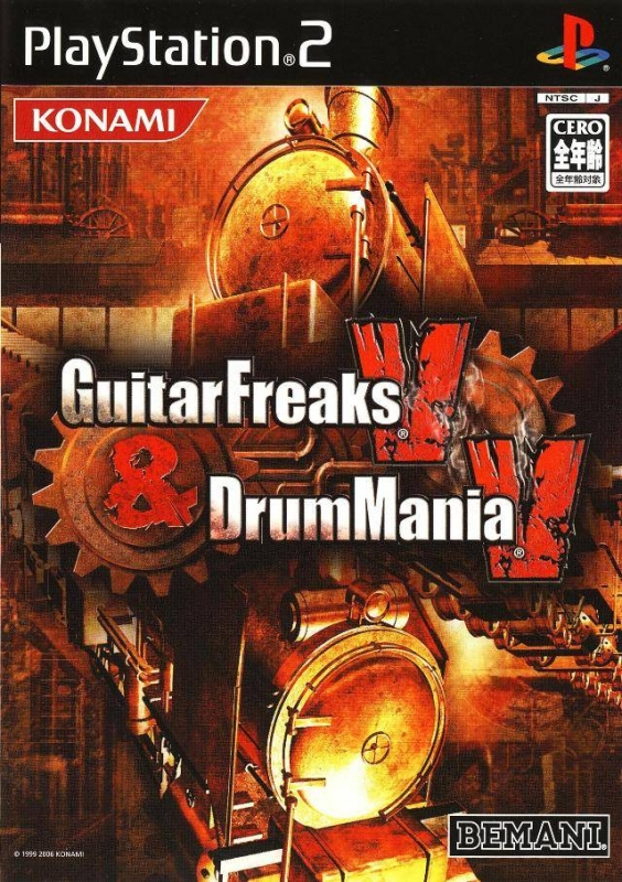 Guitar Freaks V & DrumMania V for PS2 Walkthrough, FAQs and Guide on Gamewise.co