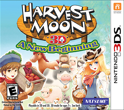 Harvest Moon 3D: A New Beginning on 3DS - Gamewise