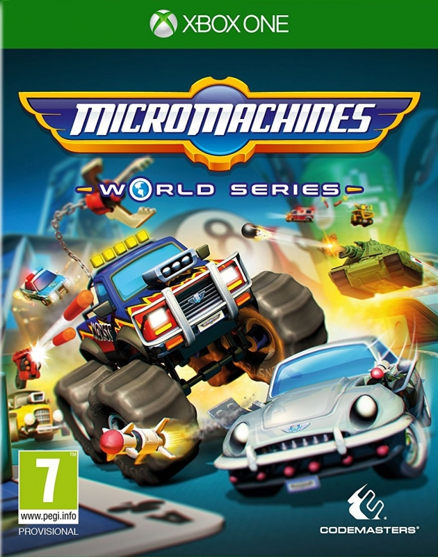 Micro Machines: World Series on XOne - Gamewise