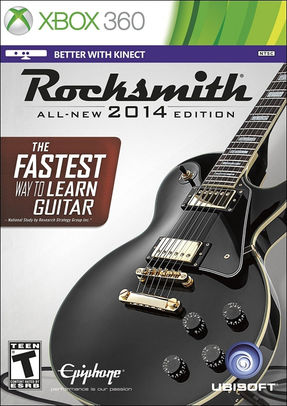 Rocksmith 2014 on X360 - Gamewise