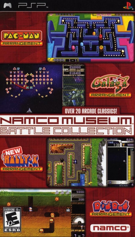 Namco Museum Battle Collection on PSP - Gamewise