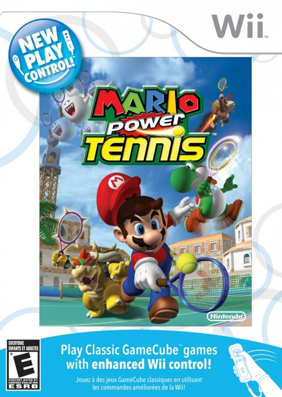 New Play Control! Mario Power Tennis [Gamewise]