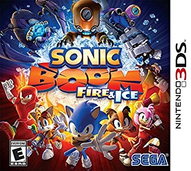 Sonic Boom: Fire & Ice on 3DS - Gamewise