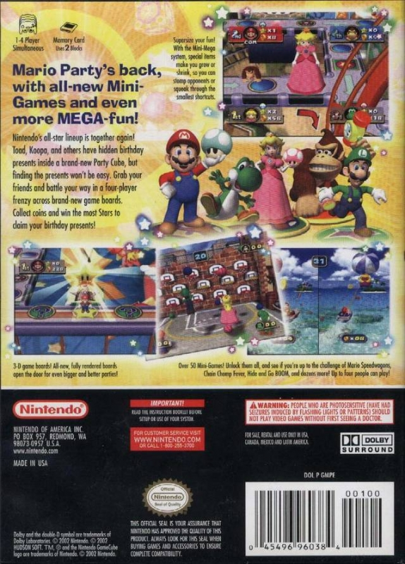 which gamecube mario party is best