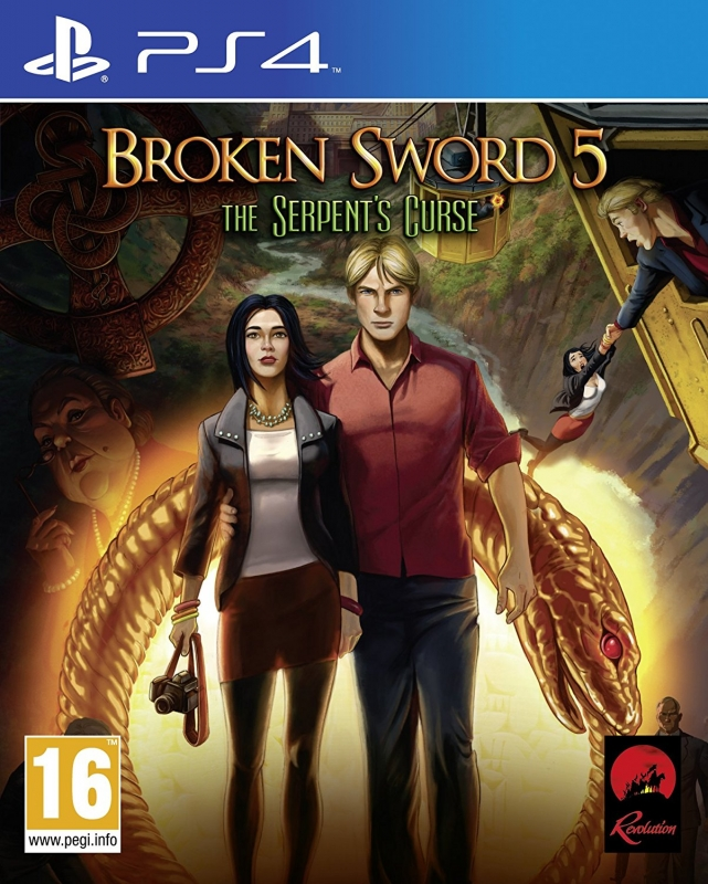 Broken Sword 5: The Serpent's Curse on PS4 - Gamewise