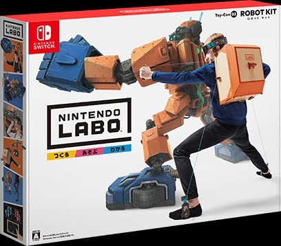 Nintendo Labo: Toy-Con 02 Robot Kit on NS - Gamewise