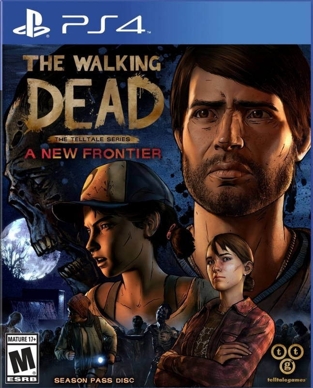 The Walking Dead - The Telltale Series: A New Frontier Release Date - PS4