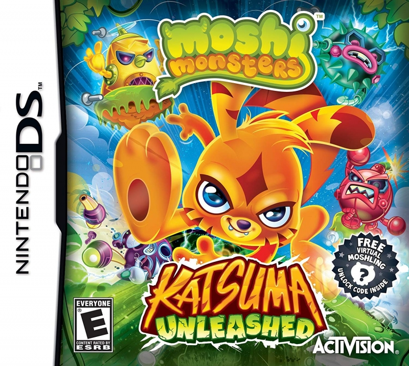 Moshi Monsters: Katsuma Unleashed [Gamewise]