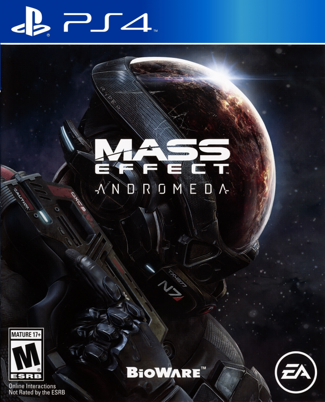 Mass Effect: Andromeda Release Date - PS4