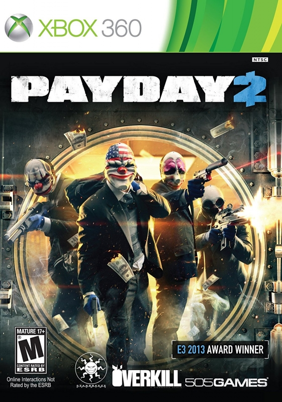 Payday 2 on X360 - Gamewise