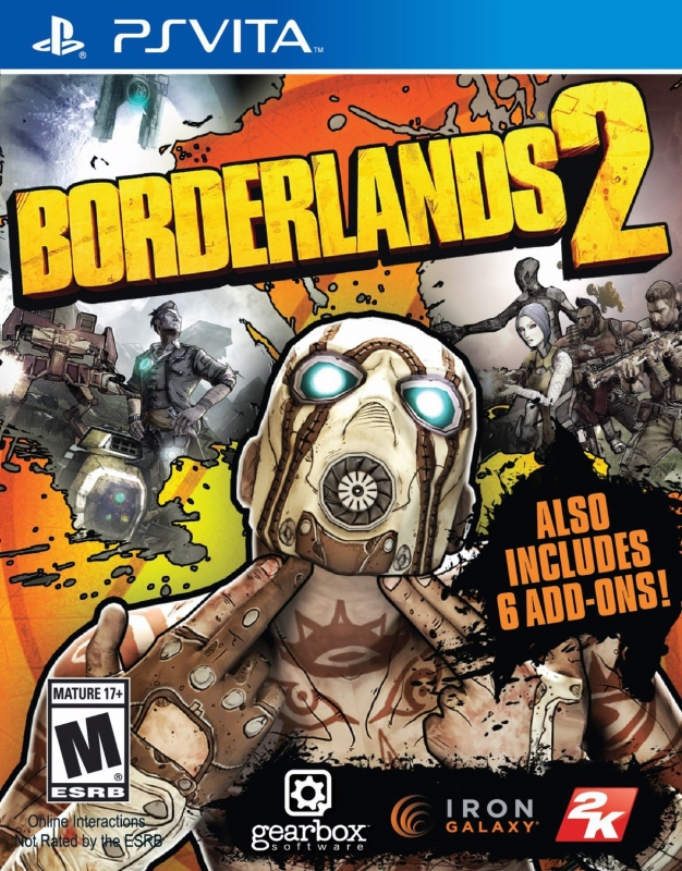 Borderlands 2 on PSV - Gamewise