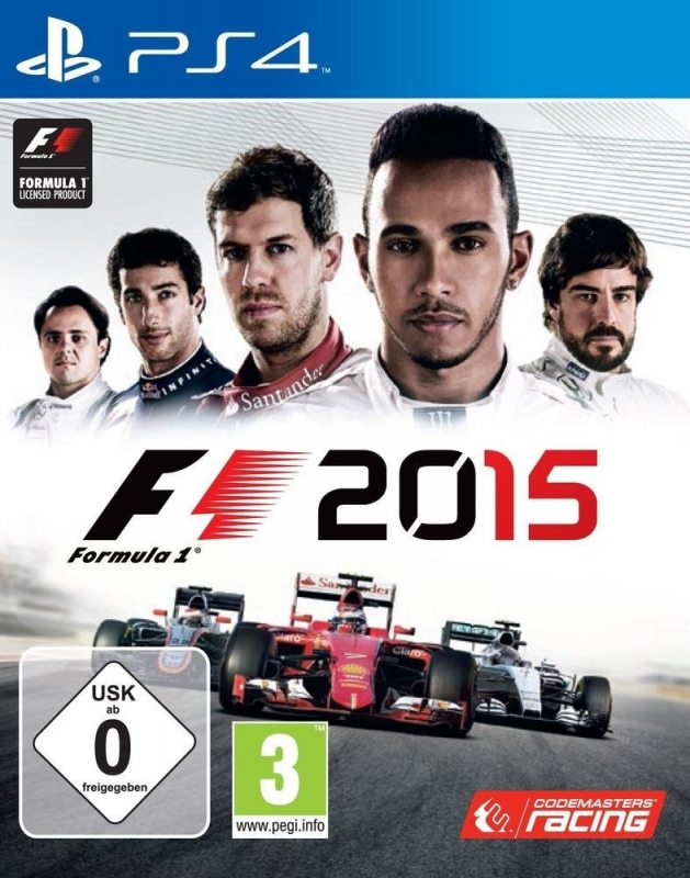 F1 2015 on PS4 - Gamewise