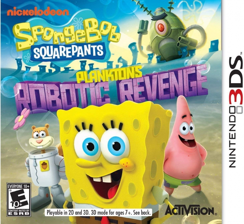 SpongeBob SquarePants: Plankton's Robotic Revenge [Gamewise]