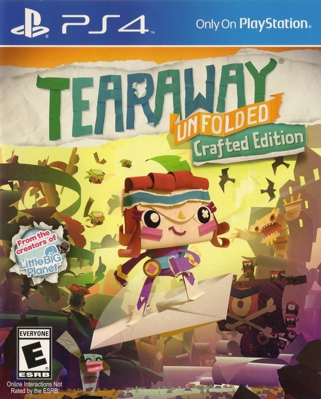 Tearaway Unfolded [Gamewise]