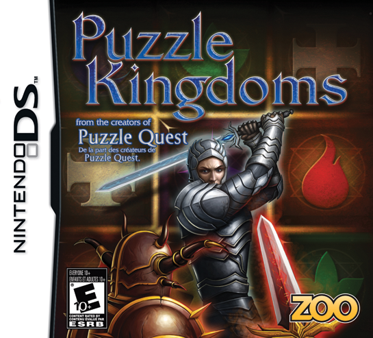 Puzzle Kingdoms on DS - Gamewise