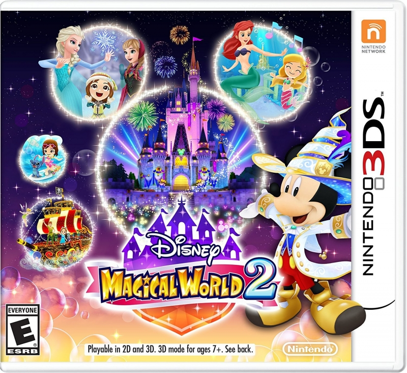 Disney Magic World 2 on 3DS - Gamewise