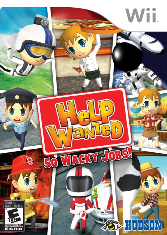 Help Wanted: 50 Wacky Jobs [Gamewise]