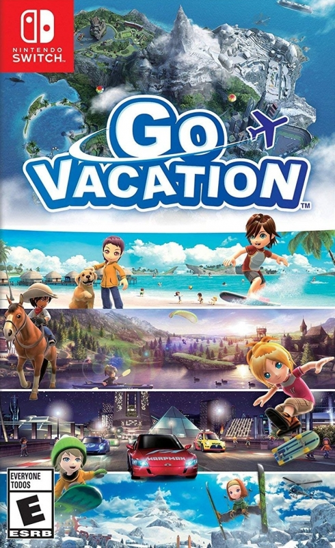 Go Vacation on NS - Gamewise