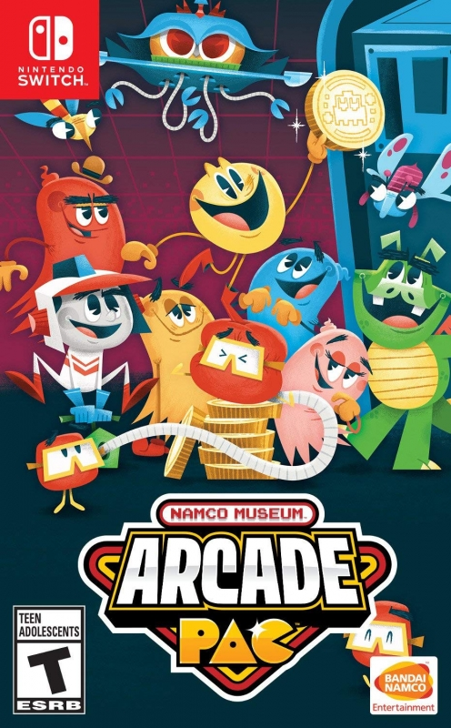 Namco Museum Arcade Pac Wiki on Gamewise.co