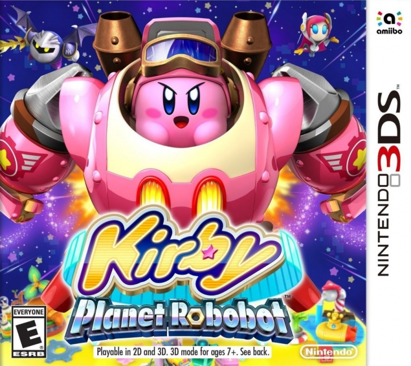 Kirby: Planet Robobot on 3DS - Gamewise