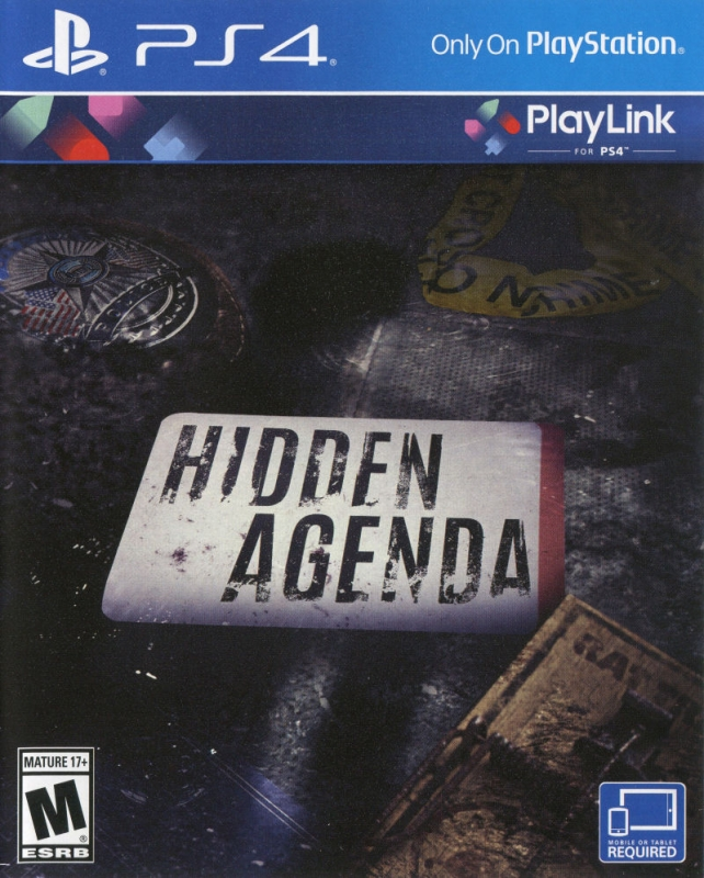Hidden Agenda on PS4 - Gamewise