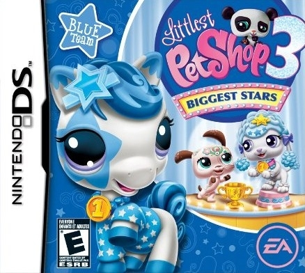 Littlest Pet Shop 3: Biggest Stars - Blue / Pink / Purple Team on DS - Gamewise
