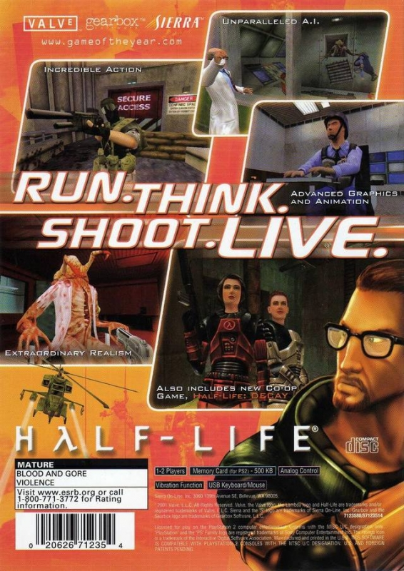 Half-Life for PlayStation 2 - Sales, Wiki, Release Dates