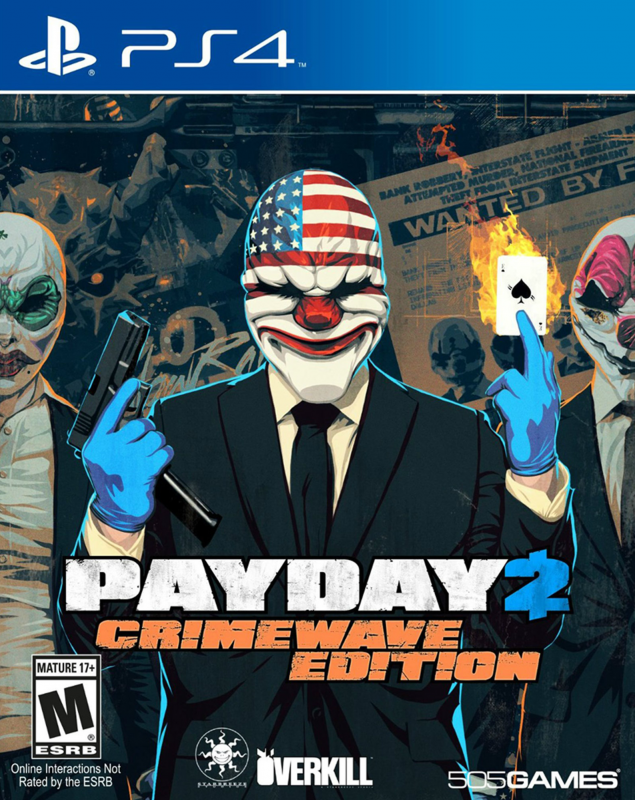 Payday 2: Crimewave Edition on PS4 - Gamewise