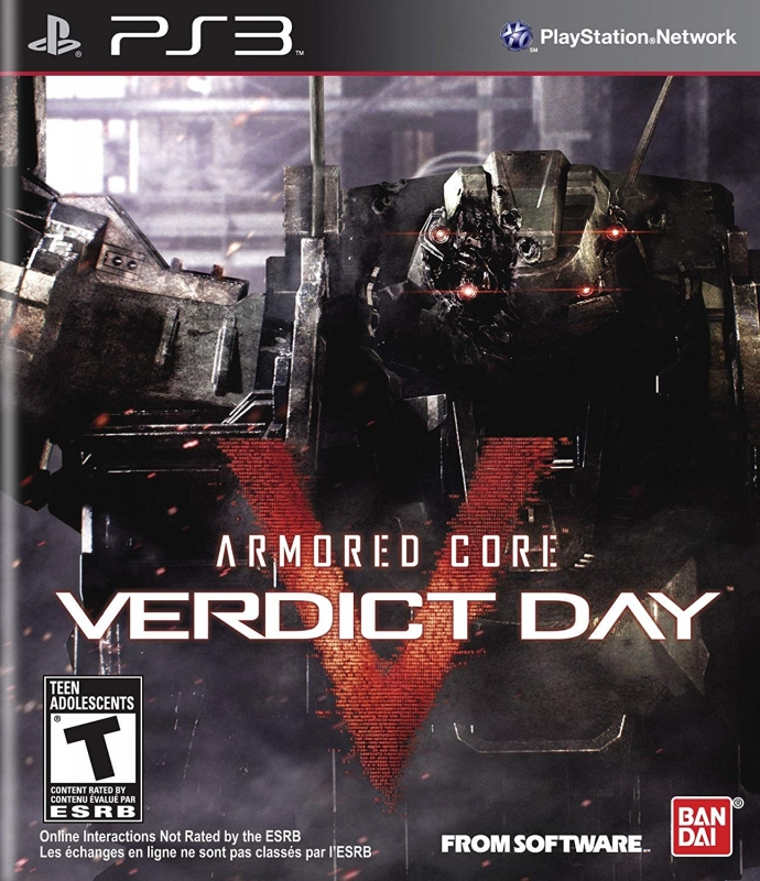 Armored Core: Verdict Day for PS3 Walkthrough, FAQs and Guide on Gamewise.co
