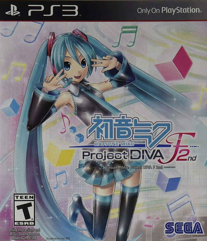 Hatsune Miku: Project Diva F 2nd [Gamewise]