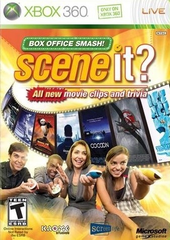 Scene It? Box Office Smash on X360 - Gamewise