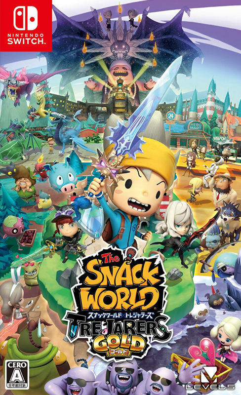 The Snack World: Trejarers Gold on NS - Gamewise