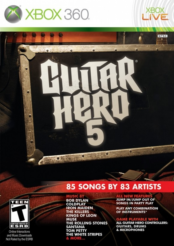 Guitar Hero 5 on X360 - Gamewise