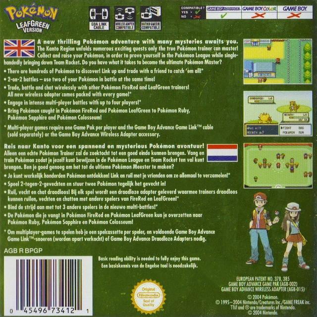 pokemon green gameboy color