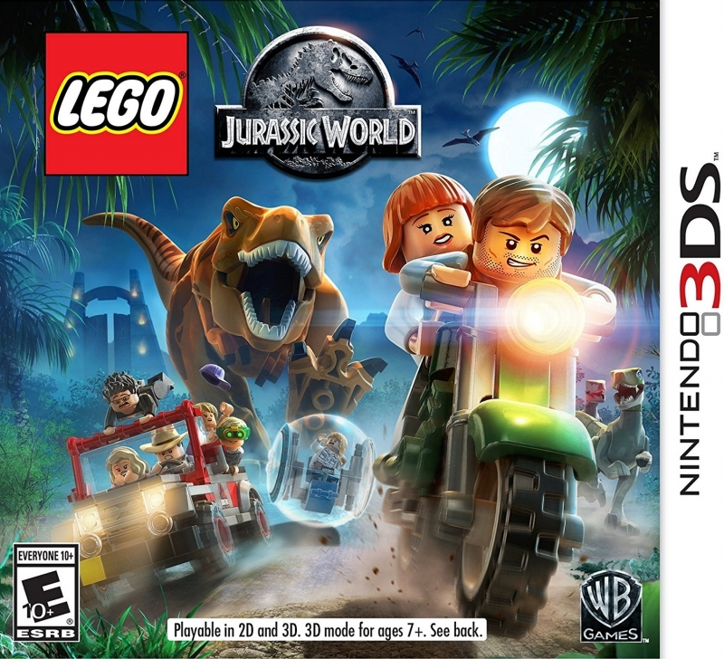LEGO Jurassic World on 3DS - Gamewise