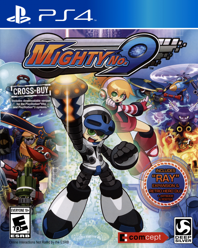 Mighty No. 9 on PS4 - Gamewise