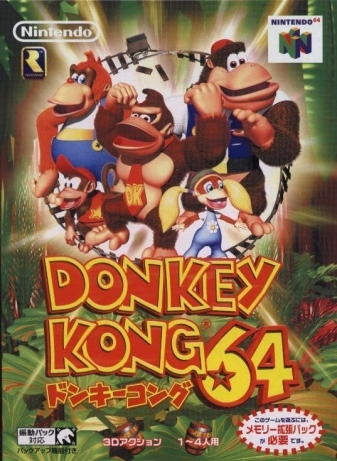 Donkey Kong 64 on N64 - Gamewise
