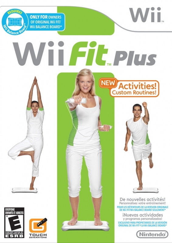 Wii Fit Plus on Wii - Gamewise