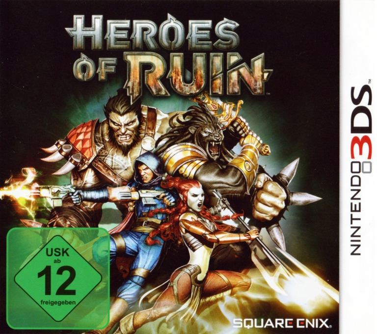 Heroes of Ruin for 3DS Walkthrough, FAQs and Guide on Gamewise.co