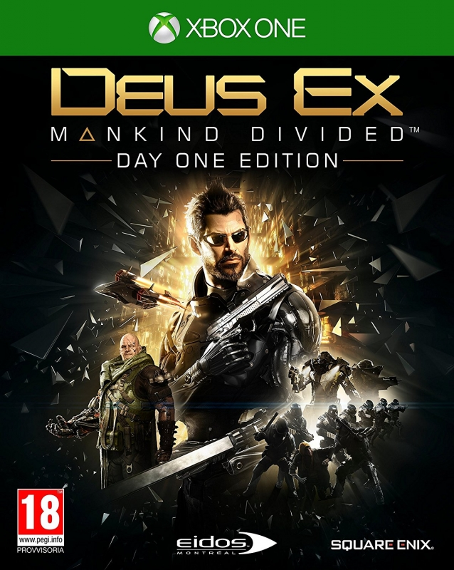 Deus Ex: Mankind Divided on XOne - Gamewise