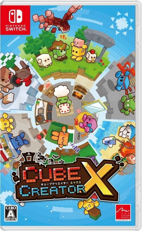 Cube Creator X on NS - Gamewise