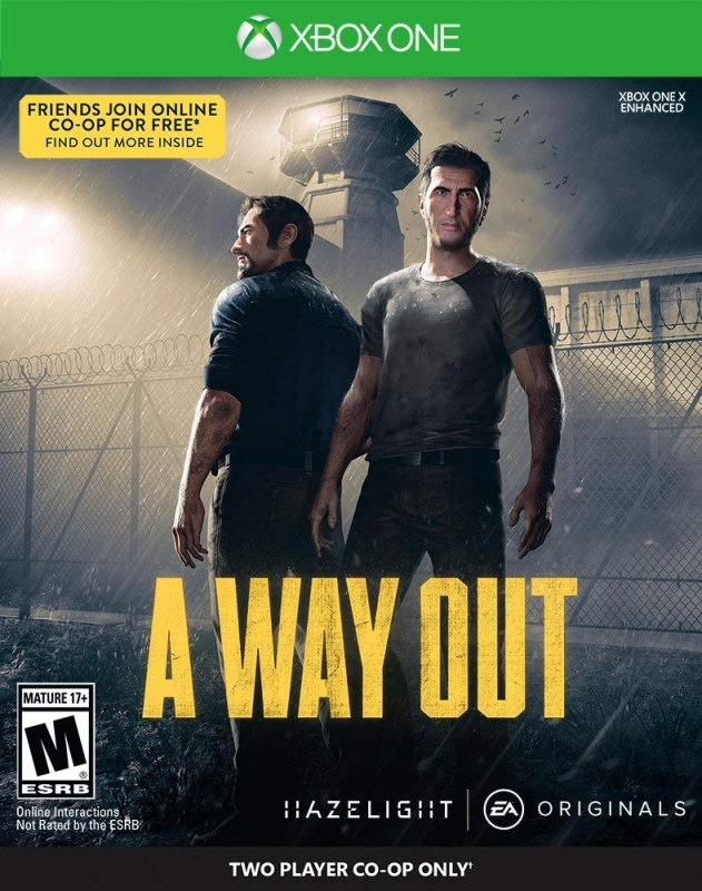 A Way Out for XOne Walkthrough, FAQs and Guide on Gamewise.co