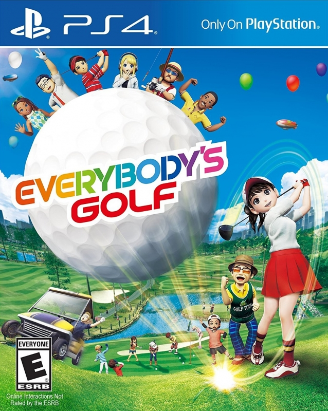 Everybody's Golf on PS4 - Gamewise