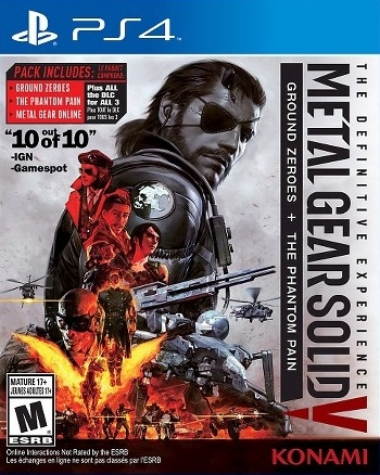 Metal Gear Solid V: The Definitive Experience [Gamewise]