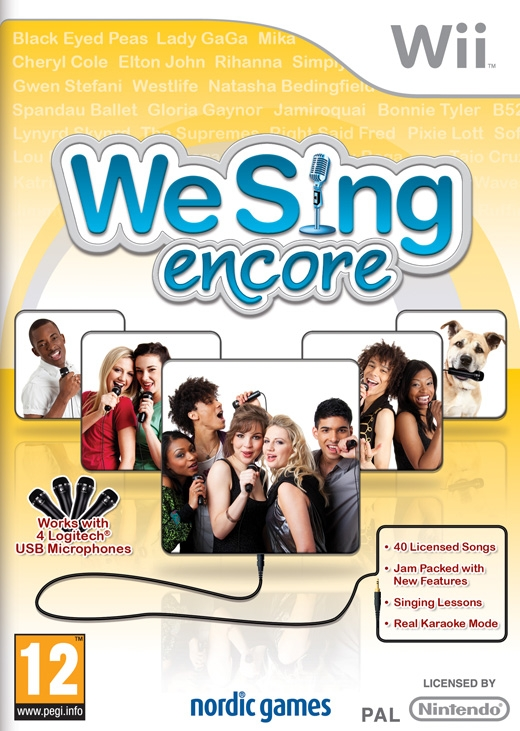 We Sing Encore [Gamewise]